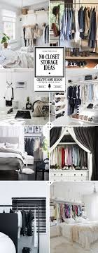 Storage For Bedrooms Without Closets 17 Best Ideas About No Closet Solutions On Pinterest No Closet