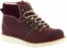 <b>Ботинки BROS</b>-<b>D</b> (цвет бордовый, натуральная кожа,спилок ...