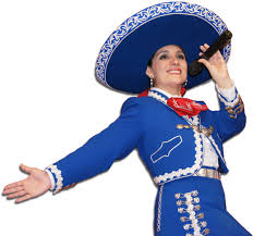 Veronica Robles - A female mariachi, mexican singer and cultural icon