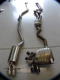 Coupe Series bmw 135i exhaust : FS: Riss Racing Downpipe-Back Exhaust!