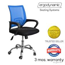 cheap office chairs for sale. Fine Sale Ergodynamic EMCP1 BLU Mesh Chair 360 Swivel Function Office Mid  Back Staff Throughout Cheap Chairs For Sale U