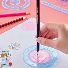 How To Use Spirograph Design Set Details About Original Spirograph Design Set Tin Draw Drawing Art Craft Create Toys Gift 27pcs