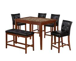 Sears Furniture Kitchen Tables 5pc Faux Marble Dining Table Set Sears Outlet