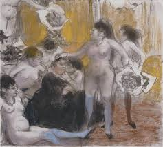 degas invents a new world
