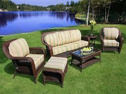 resin wicker patio sets