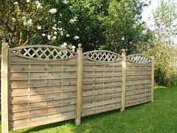 deluxe wooden fence panels j w fencing