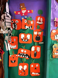 classroom door decorations for halloween. Cute Halloween Door Decoration For Kids Classroom Decorations W
