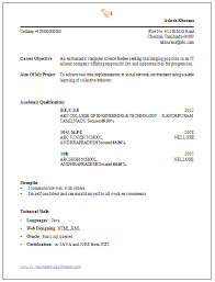 Beautiful and Simple Resume Template for All Job Seekers Sample Template of  Latest / Best Fresher
