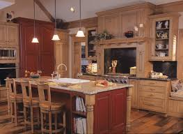 rustic kitchens designs.  Designs Country Kitchen In Red And Light Wood By Drury Kitchens Throughout Rustic Designs