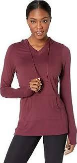 Aventura Clothing Womens Zahara Solid Hoodie Ebay