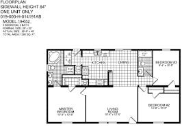 Small 3 Bedroom 2bath House Plan | Titan Avenger Model 652, Moores Homes