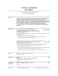 Rn Resume Samples Resume Samples New Grad Examples Of Nurse Resumes ...
