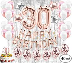 Jual 30th Birthday Decorations30 Birthday Party Supplies 30 Cake