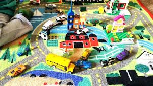 road rug for toy cars imagination and play rug toy trucks cars playtime road road rug for toy cars ikea