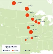 Austin Tx Allergy Chart Allergy Season Is Getting Longer And Nastier Each Year