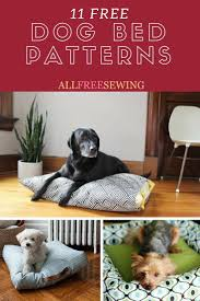 Dog Bed Sewing Patterns