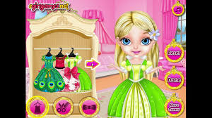 baby barbie princess fashion makeover game free dressup games for s