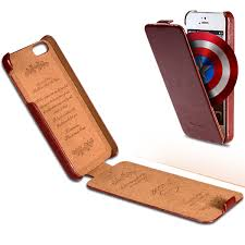 new vintage crazy horse flip pu leather retro case for apple iphone 4 4s 4g luxury