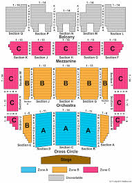 Progress Energy Center Raleigh Memorial Auditorium Seating Chart