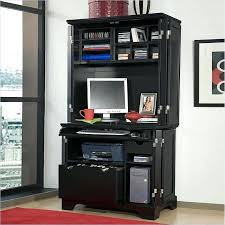 home office armoire styles furniture cabinet hutch in ebony modern