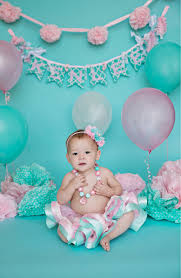 1st birthday banner shabby chic babys first birthday banner in aqua tiffany blue and