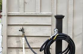 free standing garden hose hanger simple hose holder yard butler hc 2 free standing garden hose hanger