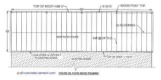 patio cover plans. File#38912803004: PDF Plans Patio Cover Diy Download How To Paint Rocking Horse S