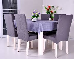 Furniture:Dining Room Design With Black Wood Dining Table Feat Cream Floral  Pattern Dining Chair