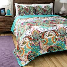 paisley quilt bedding home fashions nirvana paisley cotton 3 piece quilt set cowboy paisley quilted bedding paisley quilt