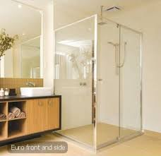 bath screens brisbane framed bathroom glass panels