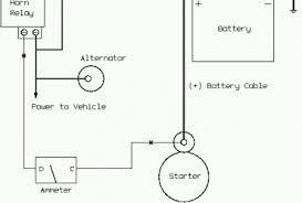 66 chevelle amp gauge wiring diagram 66 automotive wiring diagrams 370x250 ammeter gauge wiring diagram 384004