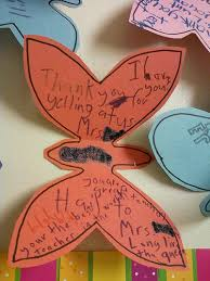 Teacher Appreciation Letters From First Graders