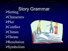 2 literary elements what parts make up