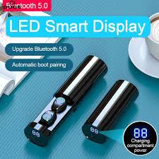 【Puue】 <b>F9</b>-<b>6 TWS Wireless</b> Bluetooth Earphone Earbuds Sport ...