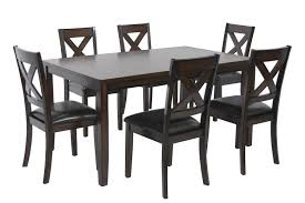 palm springs table with 6 chairs media image 1