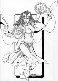 Small Picture Scarlet Witch Coloring Pages Coloring Coloring Coloring Pages