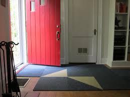 Open Red Front Door