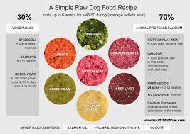 low starch grain free homemade raw food
