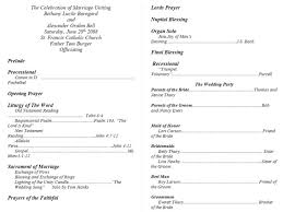 sample wedding program wording wedding marvelous wedding program examples image ideas wedding