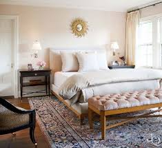 all whites and neutrals this really shows of the rug if you love the pattern and color of the rug