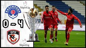 Kasımpaşa 0 - 4 Gaziantep FK | Maç Özeti