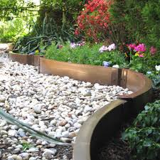 Decorative Stones For Flower Beds Decor Edging For Mulch Home Depot Flower Bed Edging Metal
