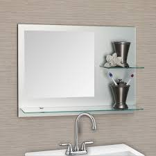 white bathroom mirror with shelf. elegant frameless bathroom mirrors for outstanding furniture decor: exciting with shelves white mirror shelf
