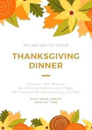 Free Thanksgiving Templates For Word Thanksgiving Dinner Menu Template