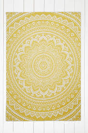 interesting yellow indoor outdoor rug for your home floor decor sahara medallion yellow indoor outdoor