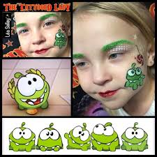 the flowers and candy graffiti eyes booster kit has the perfect candy shape stencil pattern to make great fun omnom cut the rope themed cheek art