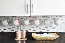 white kitchen decor ideas and how to decorate with pink accents