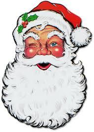 vintage santa claus face clipart. Brilliant Clipart Santa Face Cutout  26 Sets To Vintage Claus Clipart T