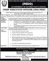 Pakhtunkhwa Energy Development Organization Pedo Khyber