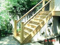 outdoor stairs lighting. Outdoor Stairs Ideas Prefabricated Exterior Steps Ready Made Prefab Wooden Stair Lighting Best